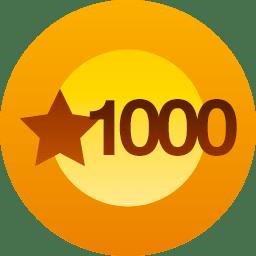 1 000 mercis !