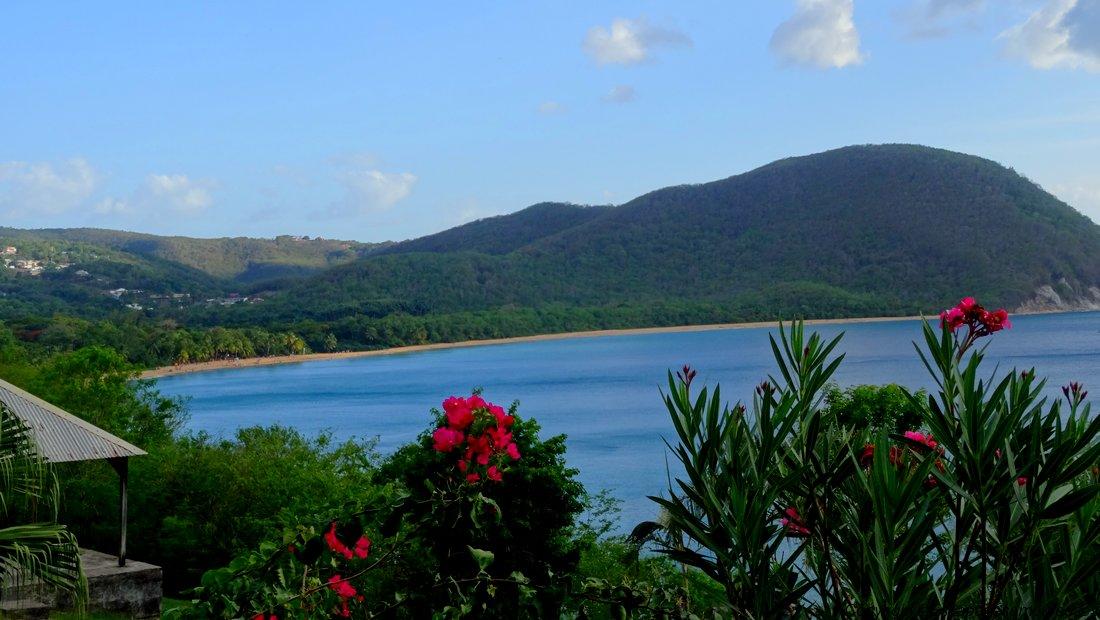 Guadeloupe plage Deshaies