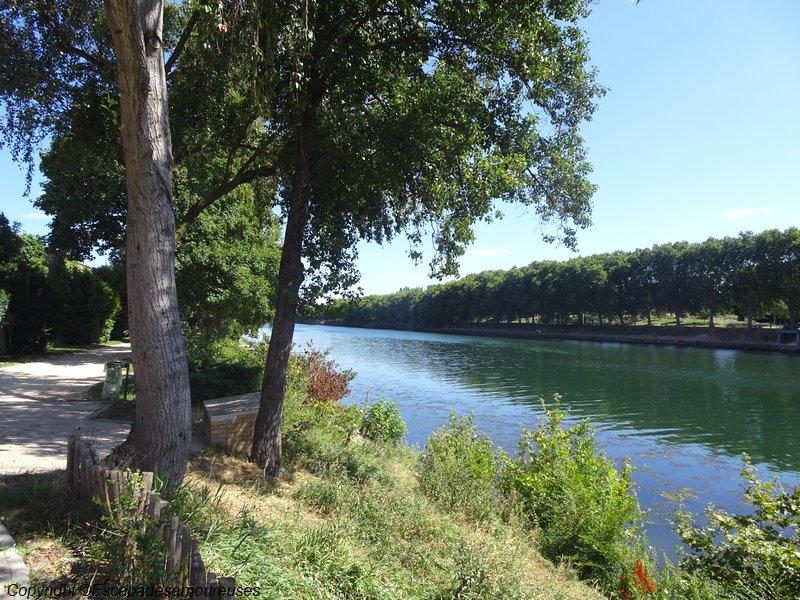 restaurant l'Avant-Seine à Epinay-sur-Seine chemin de hallage