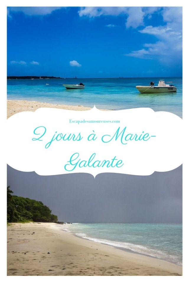 2 jours à Marie-Galante Guadeloupe