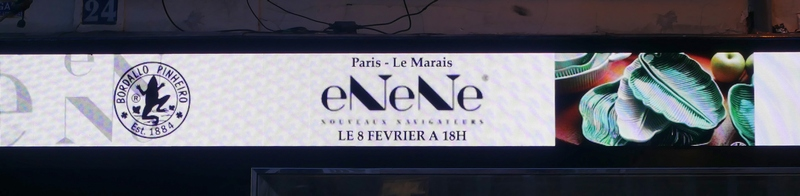 eNeNe nouveaux navigateurs Paris le Marais