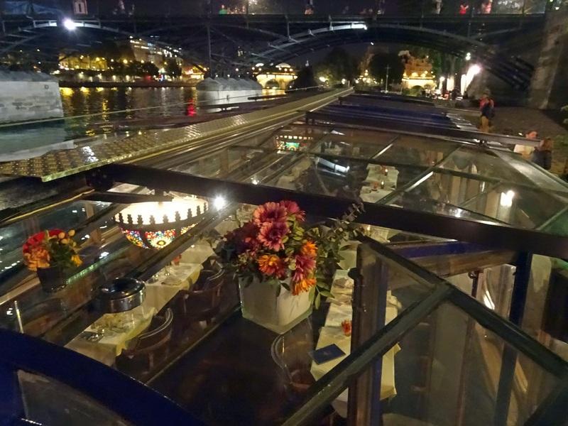 dîner croisière sur la Seine le Calife Paris
