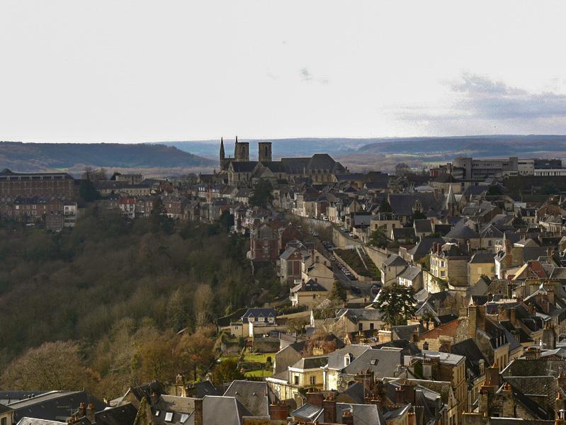 En haut des tours de Notre-Dame de Laon escapades amoureuses