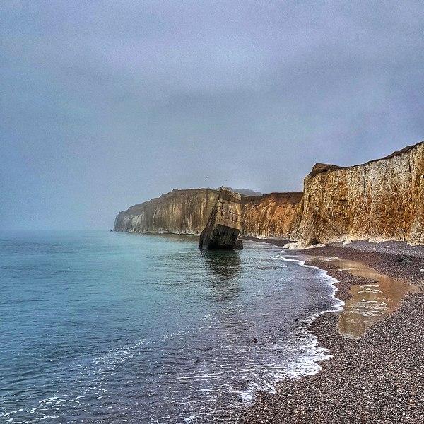 plage de sainte-marguerite sur mer seine-maritime Normandie