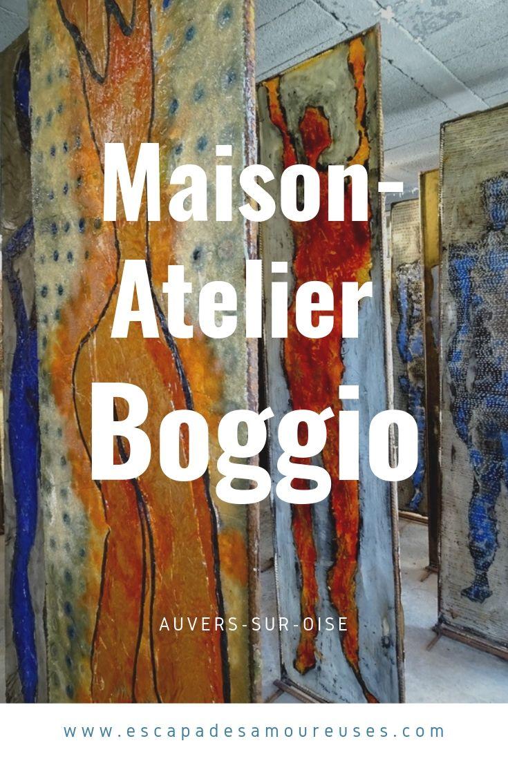 atelier Boggio à Auvers-sur-oise dans le Val d'oise- escapades amoureuses