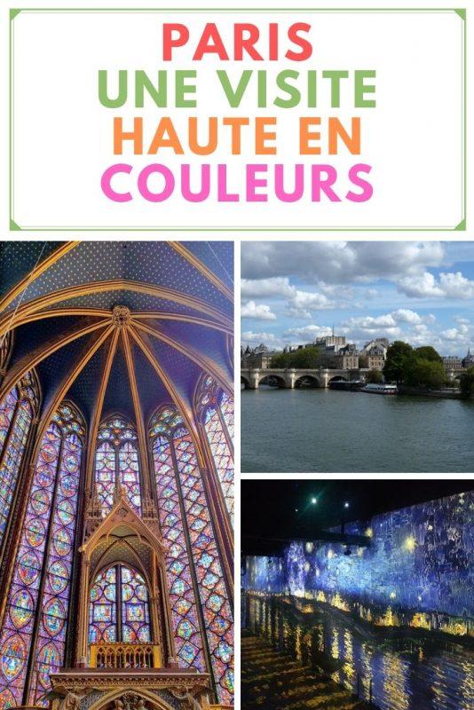 Une visite de Paris haute en couleurs.