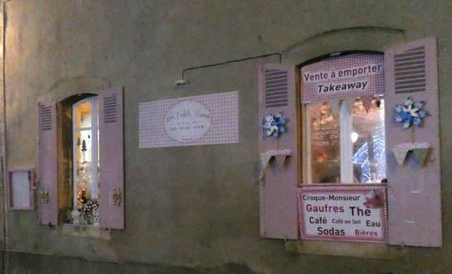 les volets roses Bayeux Salon de thé