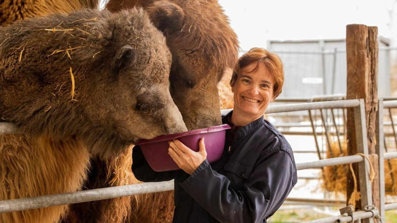 Florence Ollivet Courtois zoo refuge la Tanière