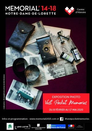 Vest Pocket Memories exposition mémorial 14/18 Lens