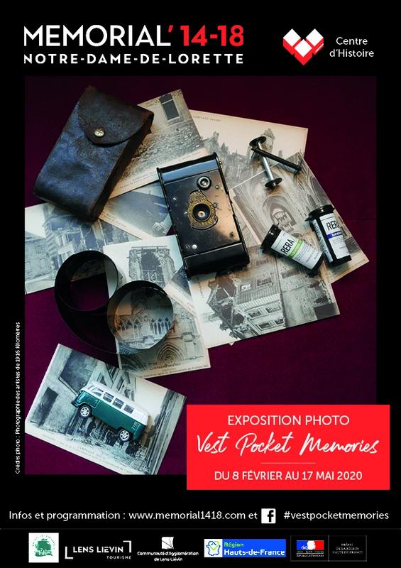 Vest Pocket Memories exposition mémorial 14/18 Lens
