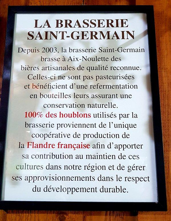 Brasserie Saint-Germain Page 24 Aix-Noulette