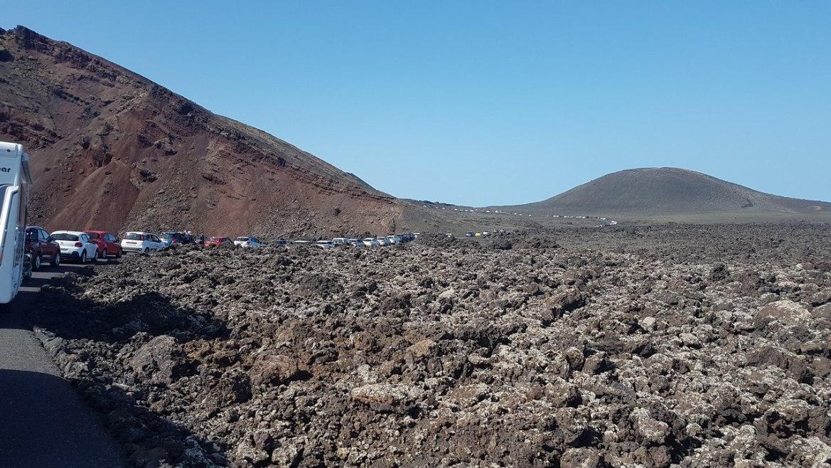 Lanzarote parc national Timanfaya escapades amoureuses