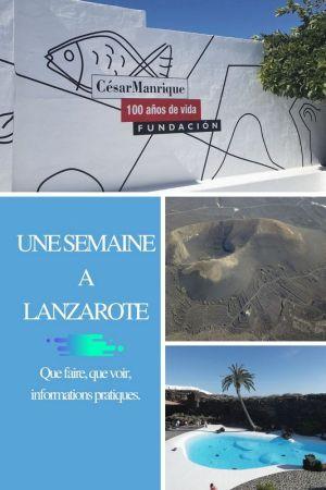 Lanzarote que voir, que faire escapades amoureuses