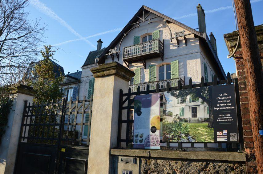 Argenteuil maison de claude Monet