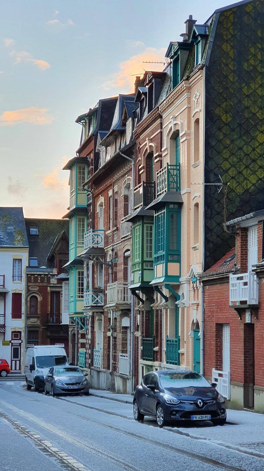 un week-end d'hiver les belles villas de Mers-les-Bains Escapades amoureuses
