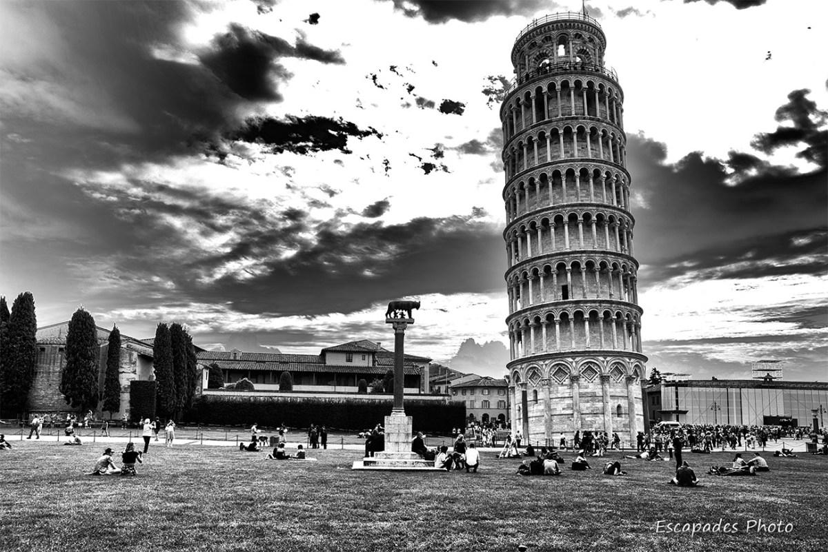 louve romaine - tour de pise