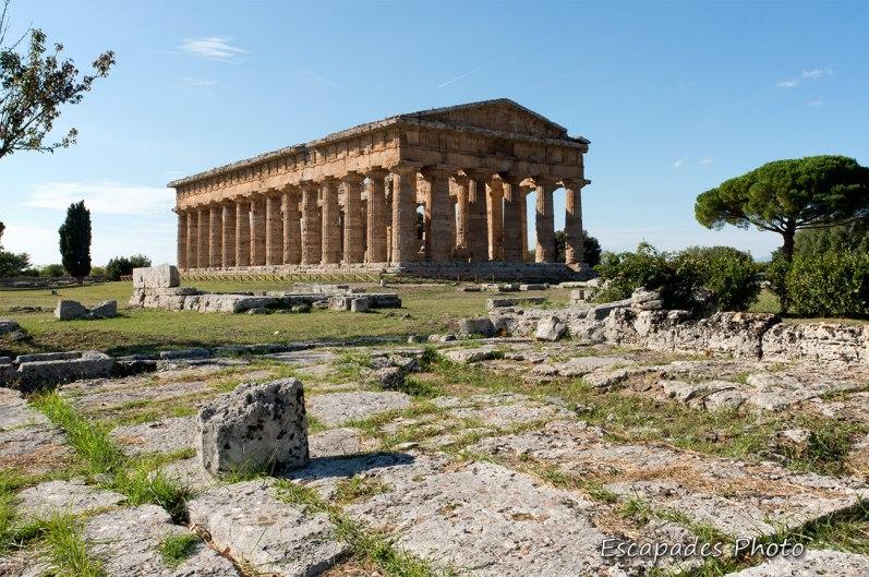 Paestum cité grecque - temple Hera