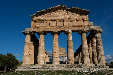 Paestum temple de Posséidon