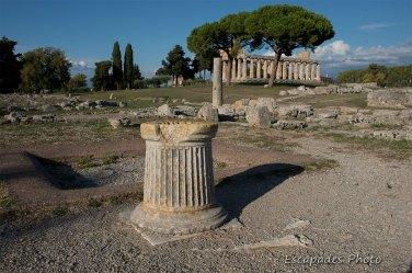 Paestum le temple de Hera