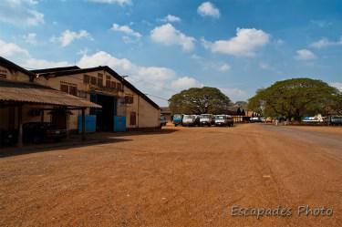 usine de caoutchouc de Chup - kampong Cham