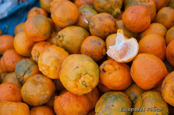 clémentine - marché de luang namtha