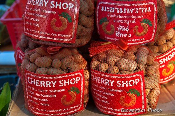 Tamarin - marché de luang namtha