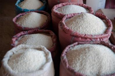 Marché au riz luang namtha