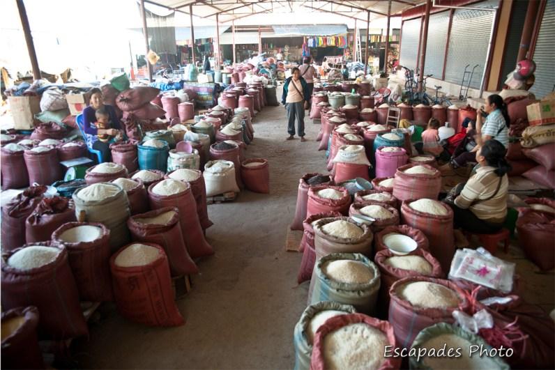 marché au riz - luang namtha