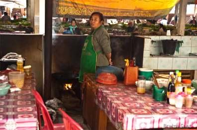 Restaurant - Marché de Luang Namtha