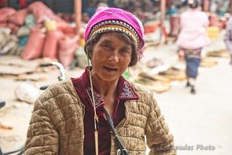Portrait femme Akha - Luang Namtha