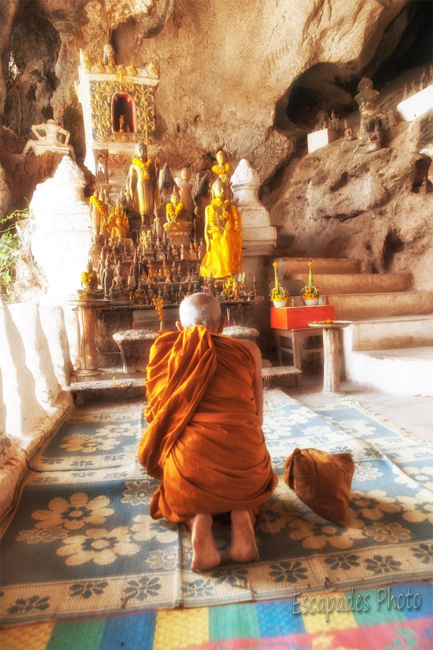 Pak Ou, grotte bouddhiste sacrée