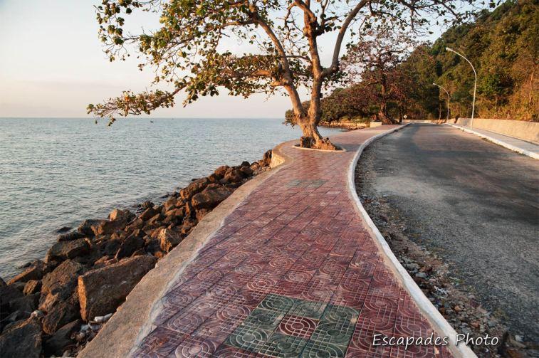 Kep la promenade en front de mer