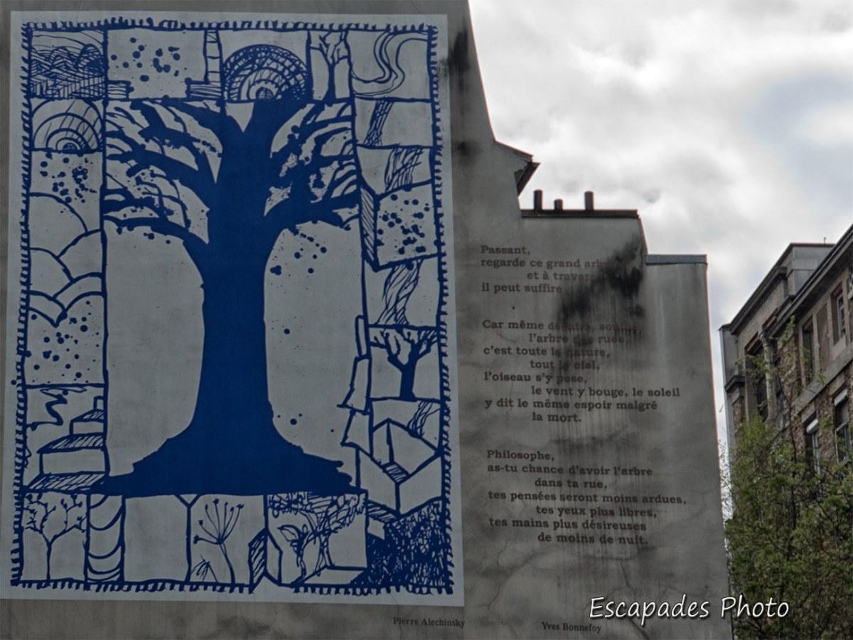 l'arbre des rues Yves Bonnefoy - Pierre Alechinsky
