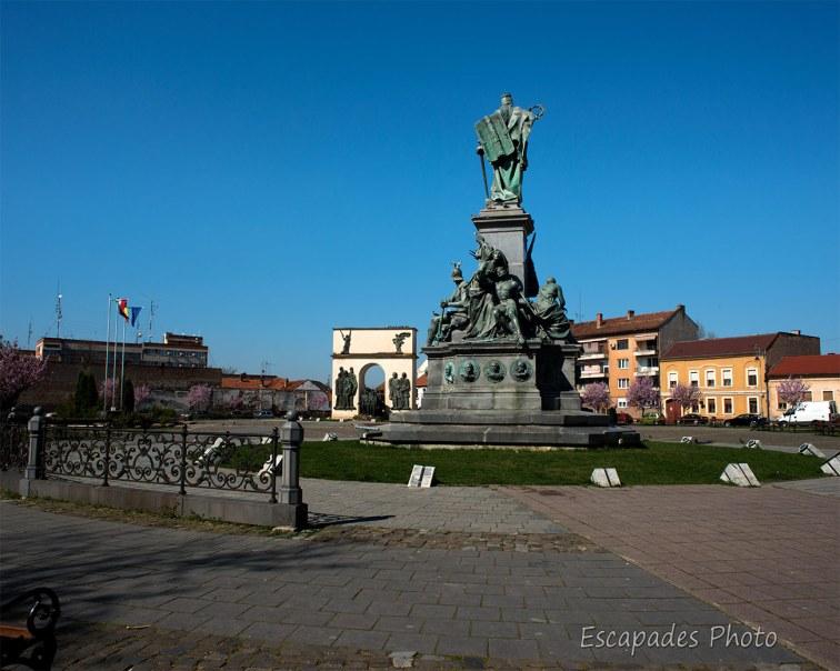 Arad - Parcul Reconcilieri - Statue de la Liberté