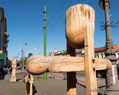 Arad - sculpture anti-avortement