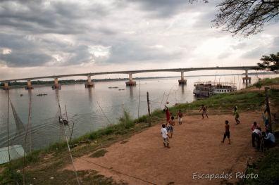 Pont Kizuna à Kampong Cham