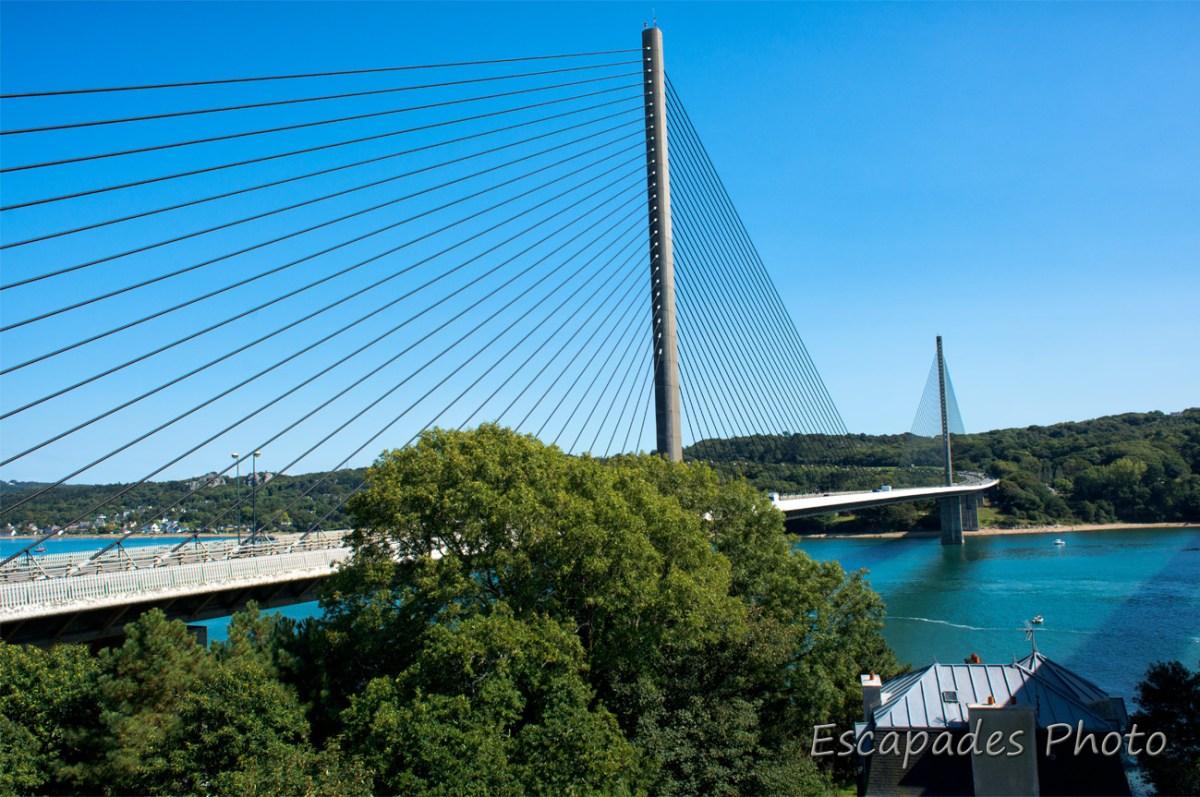 Pont de l'Iroise vu du pont Louppe