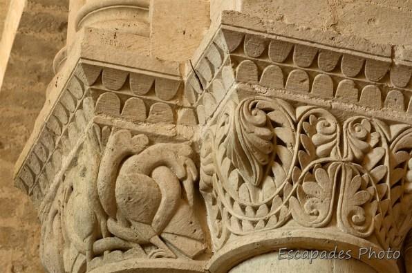 Chapiteau saint-pierre en Saintonge