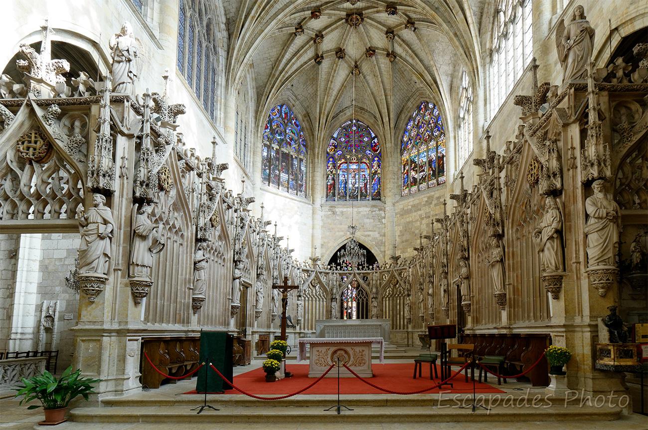Cathédrale Saint-Pierre de Condom en lumière