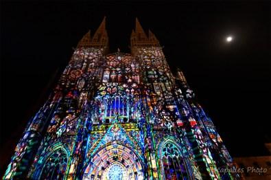 son et lumière saint-corentin - rosaces et vitraux