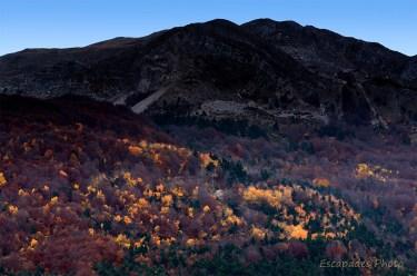 Vergons : Paysage d'automne