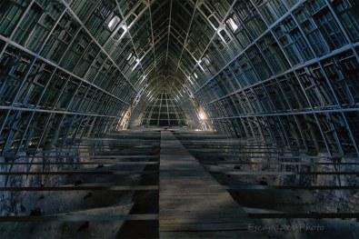 Charpente cathédrale de Chartres - Lumières en nuances