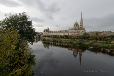 Abbaye de Saint-Savin et la Gartempe