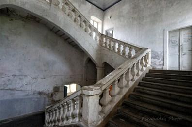 Carmes de la Rochefoucauld - escalier