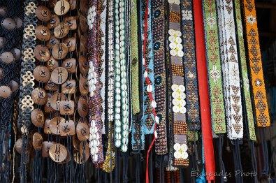 Marché Candi Kuning - artisanat tribal