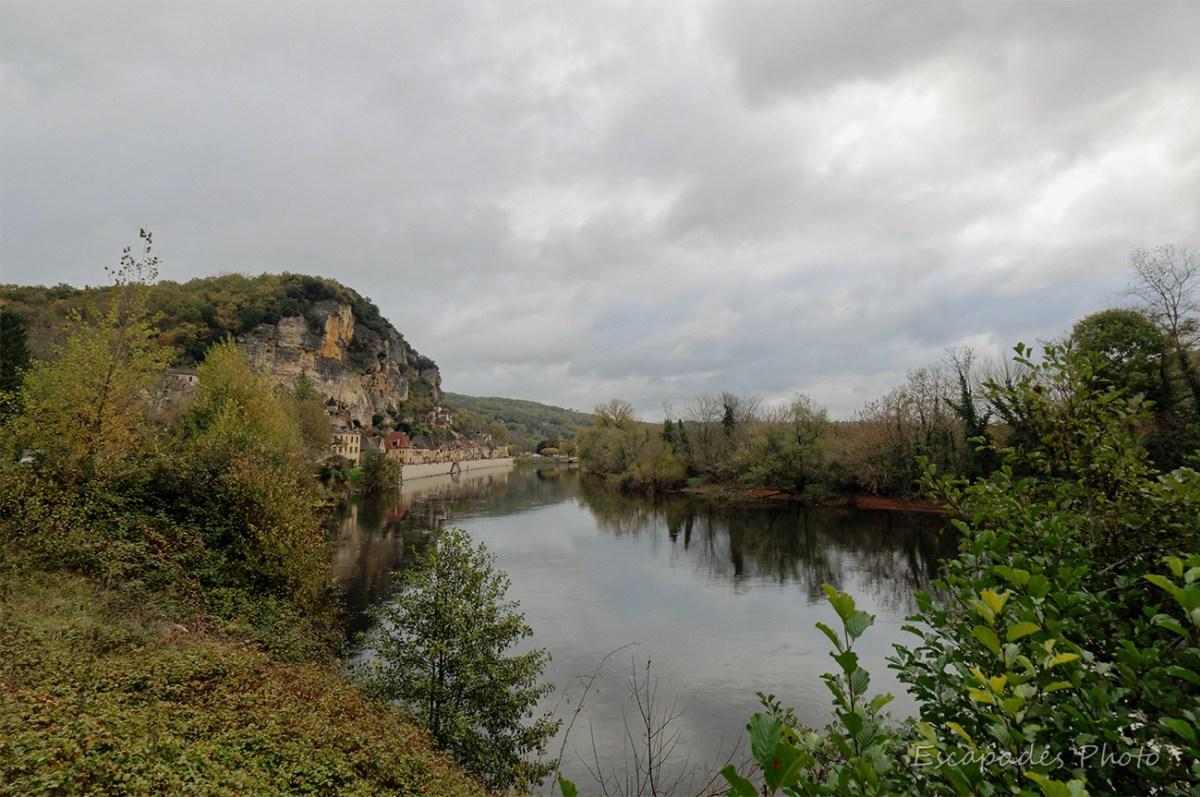 La Roque Cageac et la Dordogne