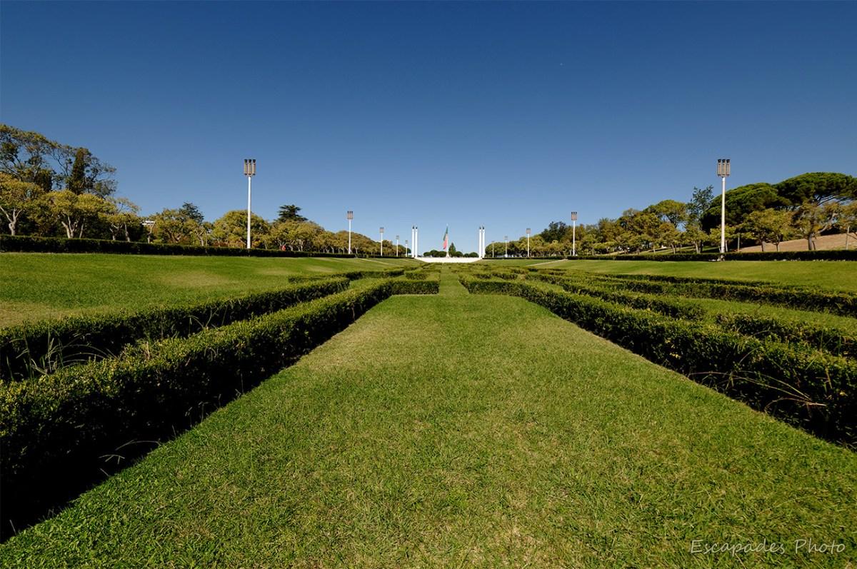 , Parc Édouard VII - Lisbonne, monument au 25 avril