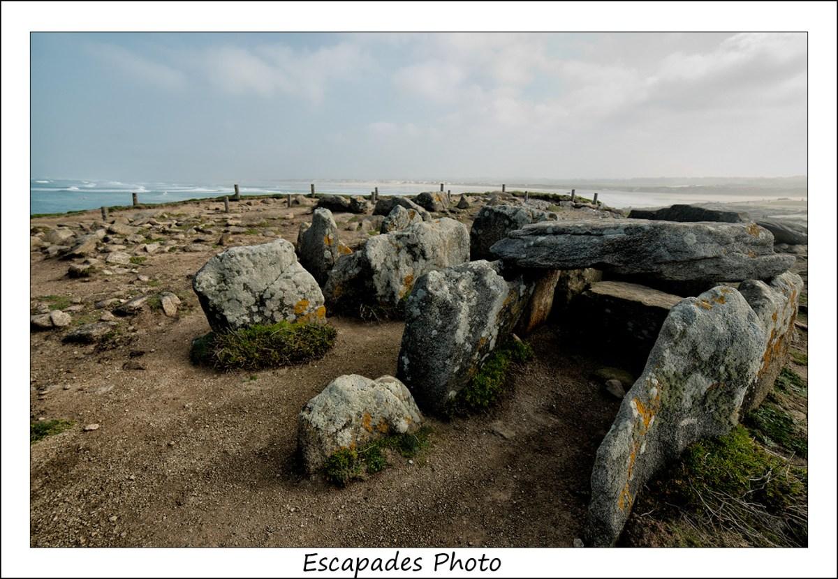 Pointe de la Torche - Dolmen du néolithique