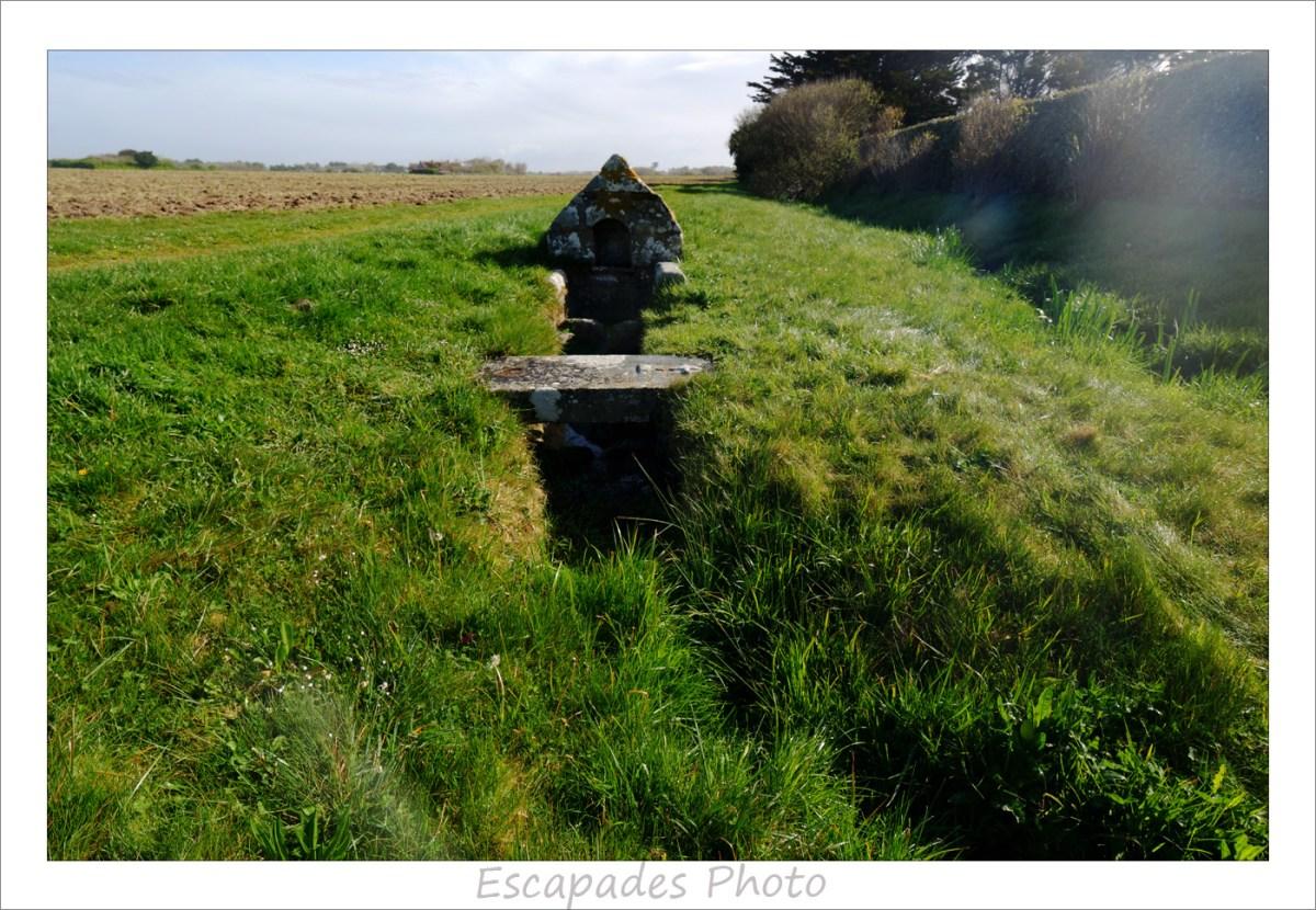 Fontaine Saint-Vio dans la verdure