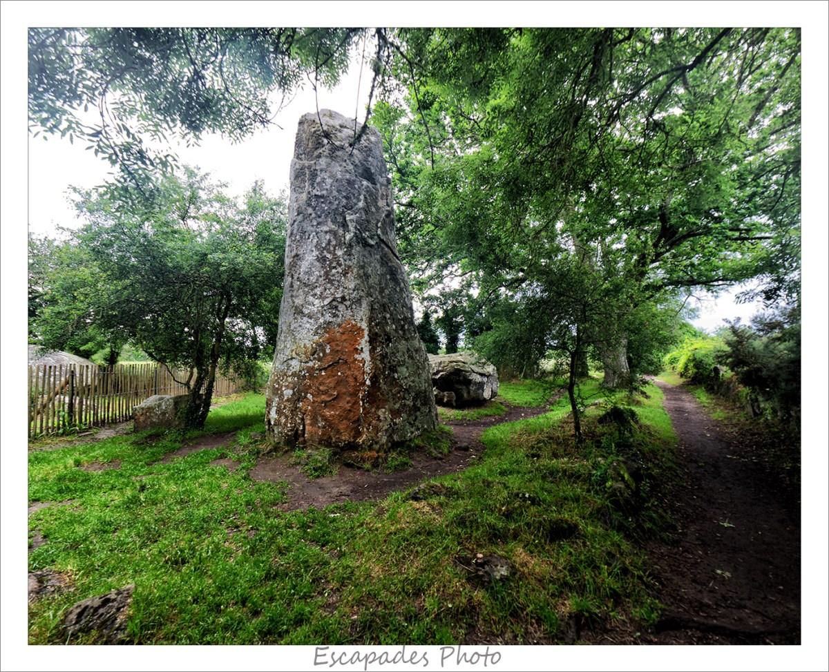 Géants de Kerzerho - Menhir